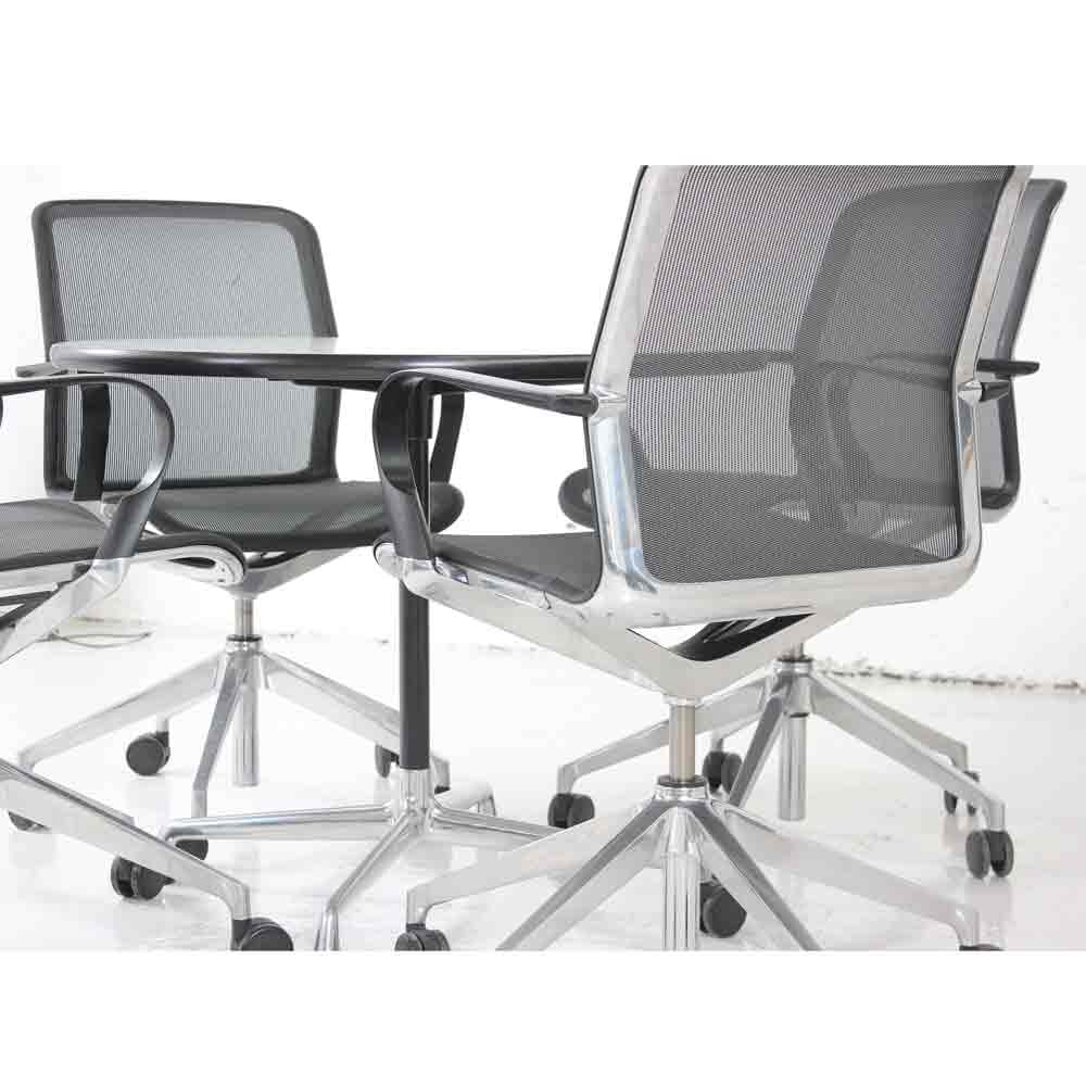 4 X Bene Filo Chairs Amp 1 X Vitra Eames Table Chairs And